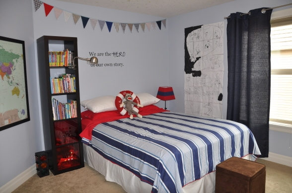Boys rockin rooms for Room decor for 6 year old boy